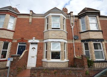 Thumbnail 3 bed terraced house to rent in Rugby Road, Exeter, Devon