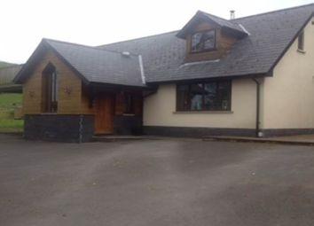 Thumbnail 3 bed detached house to rent in Ffynonwen Bungalow, Cwm Rheidol, Aberystwyth