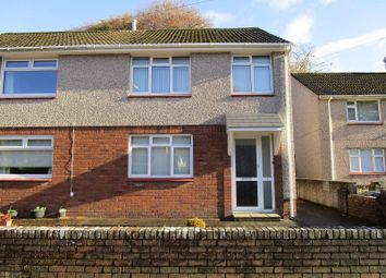 Thumbnail 3 bedroom semi-detached house for sale in Glantwrch, Ystalyfera, Swansea