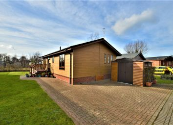 Thumbnail 3 bed mobile/park home for sale in Barholm Road, Tallington, Stamford