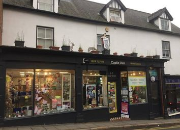 Thumbnail Retail premises for sale in Castle Bell Buildings, Ruthin, Denbighshire