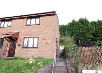 Thumbnail 2 bedroom end terrace house to rent in Brynawel, Caerphilly