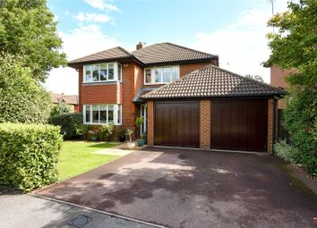 Thumbnail 4 bedroom detached house for sale in Derbyshire Green, Warfield, Berkshire