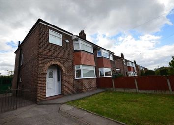 Thumbnail 3 bedroom semi-detached house to rent in Waverton Avenue, Heaton Chapel, Stockport