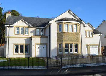 Thumbnail 5 bed detached house for sale in Helenslee Road, Dumbarton, West Dunbartonshire