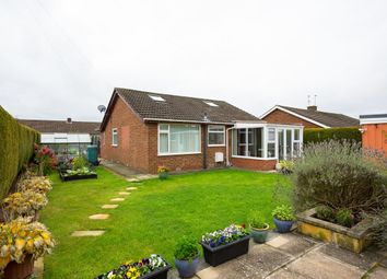 Thumbnail 2 bed bungalow for sale in Wasdale Close, Rawcliffe, York