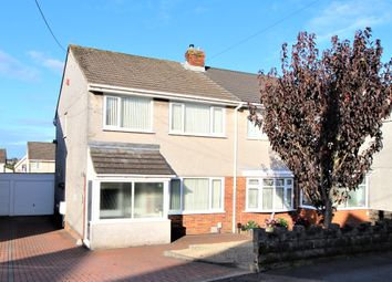 Thumbnail 3 bed semi-detached house for sale in Garden Crescent, Garden Village, Gorseinon, Swansea