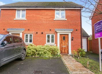 Thumbnail 2 bedroom semi-detached house for sale in Parsley Close, Bury St. Edmunds