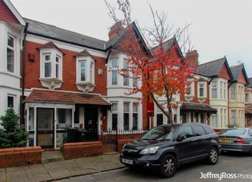 Thumbnail 3 bedroom terraced house to rent in Stallcourt Avenue, Roath, Cardiff