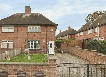 Thumbnail 2 bed semi-detached house for sale in Northwood Road, Arnold, Nottingham