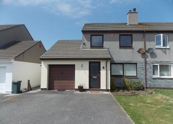 Thumbnail 3 bed semi-detached house for sale in Sunnyside Parc, Illogan, Redruth