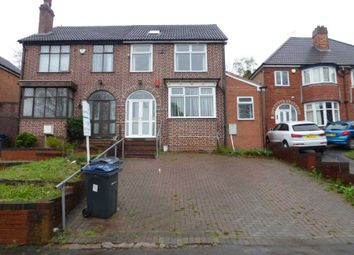Thumbnail 4 bed semi-detached house to rent in Cole Valley Road, Hall Green, Birmingham.