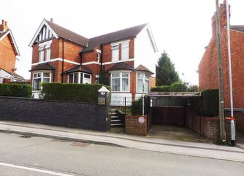 Thumbnail 3 bed detached house for sale in Rushton Road, Rothwell, Kettering