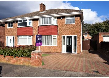 Thumbnail 3 bed semi-detached house for sale in Elwick Avenue, Middlesbrough