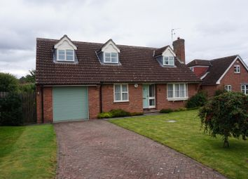 Thumbnail 5 bed detached bungalow for sale in Mile End Park, Pocklington