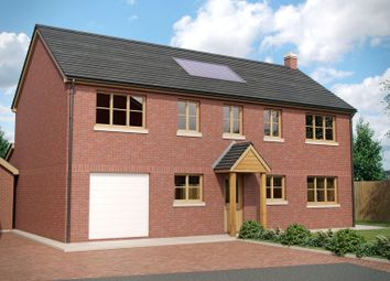 Thumbnail 4 bedroom detached house for sale in River View Close, Boughrood, Brecon