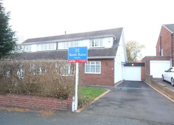 Thumbnail 3 bed semi-detached house to rent in Greenfield Road, Gosforth, Newcastle Upon Tyne