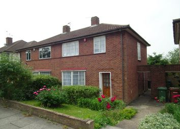 Thumbnail 3 bed semi-detached house for sale in Oxhey Lane, Hatch End, Pinner