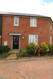 Thumbnail 2 bed terraced house to rent in Cromwell Crescent, Papworth Everard, Cambridge