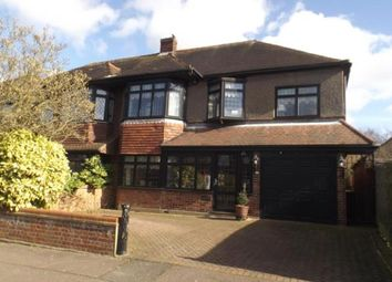 Thumbnail 4 bed semi-detached house for sale in Whitehall Close, Chigwell