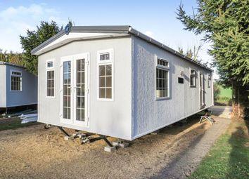 Thumbnail 2 bedroom mobile/park home for sale in Belle Eau Park, Bilsthorpe, Newark
