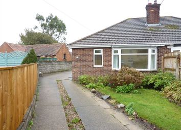 Thumbnail 2 bed semi-detached bungalow for sale in Stallingborough Road, Immingham, Near Grimsby