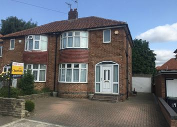 Thumbnail 2 bed semi-detached house for sale in Almsford Drive, Acomb, York