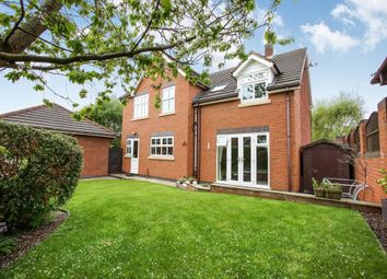 Thumbnail 4 bed detached house for sale in Elm Drive, Holmes Chapel, Crewe