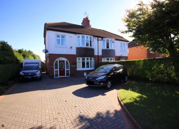 Thumbnail 3 bed semi-detached house for sale in Crewe Road, Wistaston