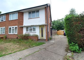 Thumbnail 2 bedroom maisonette for sale in Flaxman Close, Earley, Reading, Berkshire