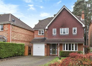 Thumbnail 4 bed detached house for sale in Butler Road, Bagshot, Surrey