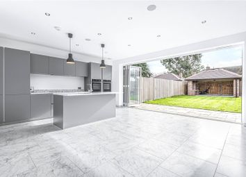 Thumbnail 3 bed semi-detached house for sale in Manorway, Enfield