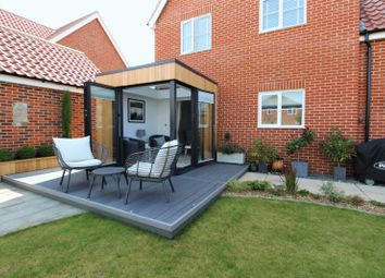 Thumbnail 3 bed link-detached house for sale in Wilson Road, Stalham, Norwich