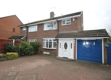 Thumbnail 3 bedroom semi-detached house for sale in Westwood Drive, Penkridge, Stafford