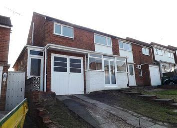 Thumbnail 3 bed semi-detached house to rent in Comsey Road, Park Farm Great Barr, Great Barr, Birmingham
