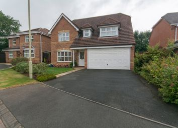 Thumbnail 4 bed detached house for sale in Alderslee Close, Priorslee, Telford