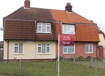 Thumbnail 3 bed semi-detached house to rent in Romney Road, Ipswich