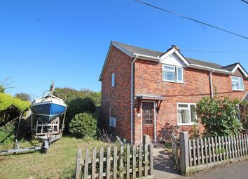 Thumbnail 3 bed semi-detached house for sale in Northfield Road, Milford On Sea, Lymington