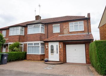 Thumbnail 5 bed semi-detached house for sale in Kenilworth Drive, Borehamwood