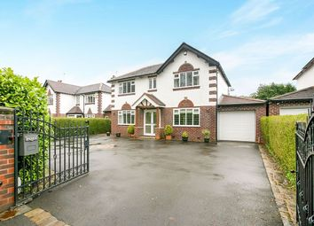 Thumbnail 4 bed detached house for sale in Stockport Road, Marple, Stockport