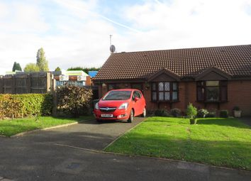 Thumbnail 2 bed semi-detached bungalow for sale in Maple Drive, Shelfield, Walsall