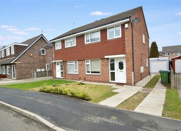 Thumbnail 3 bed semi-detached house for sale in Hendham Close, Hazel Grove, Stockport, Cheshire