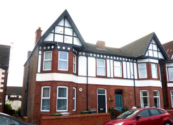 Thumbnail 3 bed flat to rent in Gorsehill Road, New Brighton, Wallasey