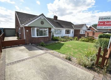 Thumbnail 3 bed semi-detached bungalow for sale in Chestnut Road, Waltham, Grimsby