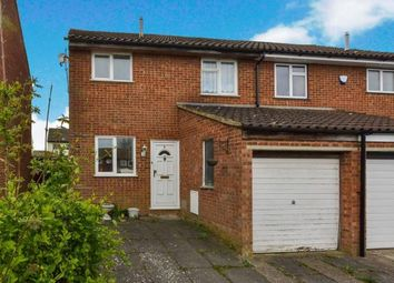 Thumbnail 3 bed semi-detached house for sale in Naseby Court, Bradville, Milton Keynes, Buckinghamshire