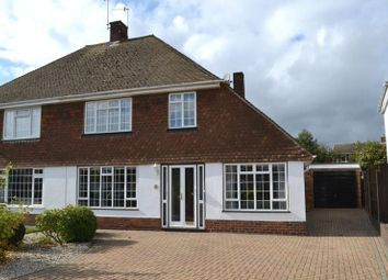 Thumbnail 3 bed semi-detached house for sale in Walton Road, Tonbridge