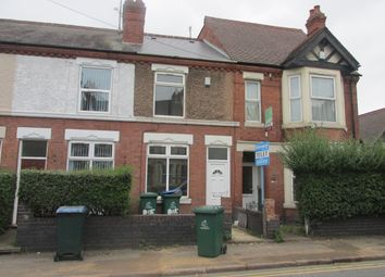 Thumbnail 4 bed terraced house to rent in Gulson Road, Coventry