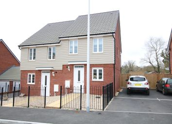 Thumbnail 2 bed semi-detached house for sale in Albatross Road, The Rydons, Exeter