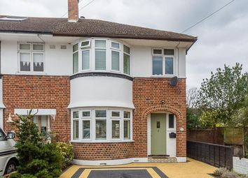 Thumbnail 3 bed end terrace house for sale in Dunvegan Close, West Molesey