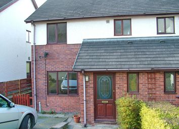 Thumbnail 3 bedroom semi-detached house to rent in Maescrugiau, Aberystwyth